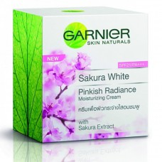 Garnier Sakura White Pinkish Radiance Moisturizing Cream SPF21/PA+++ 50ml